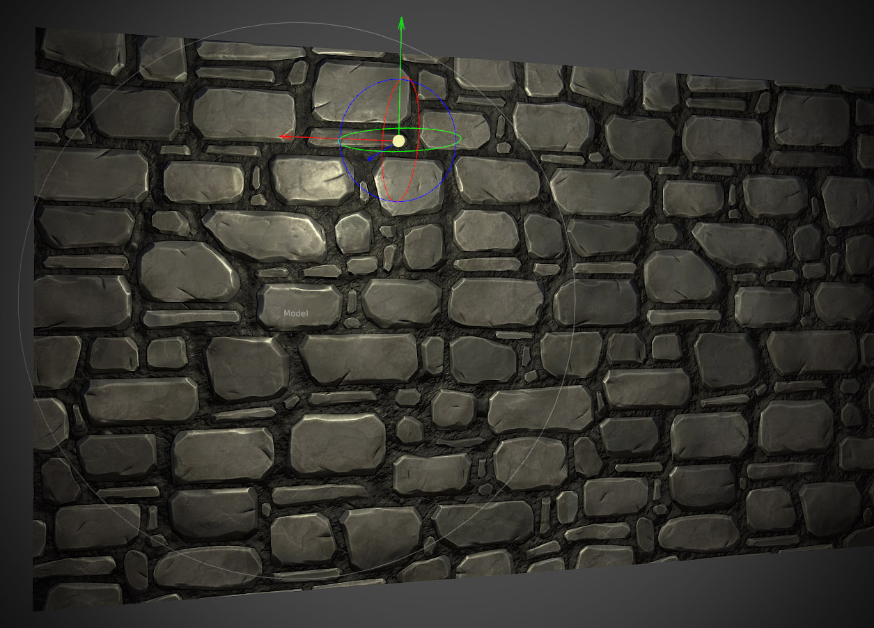 Dungeon Wall Texture Here's a tiled texture test in