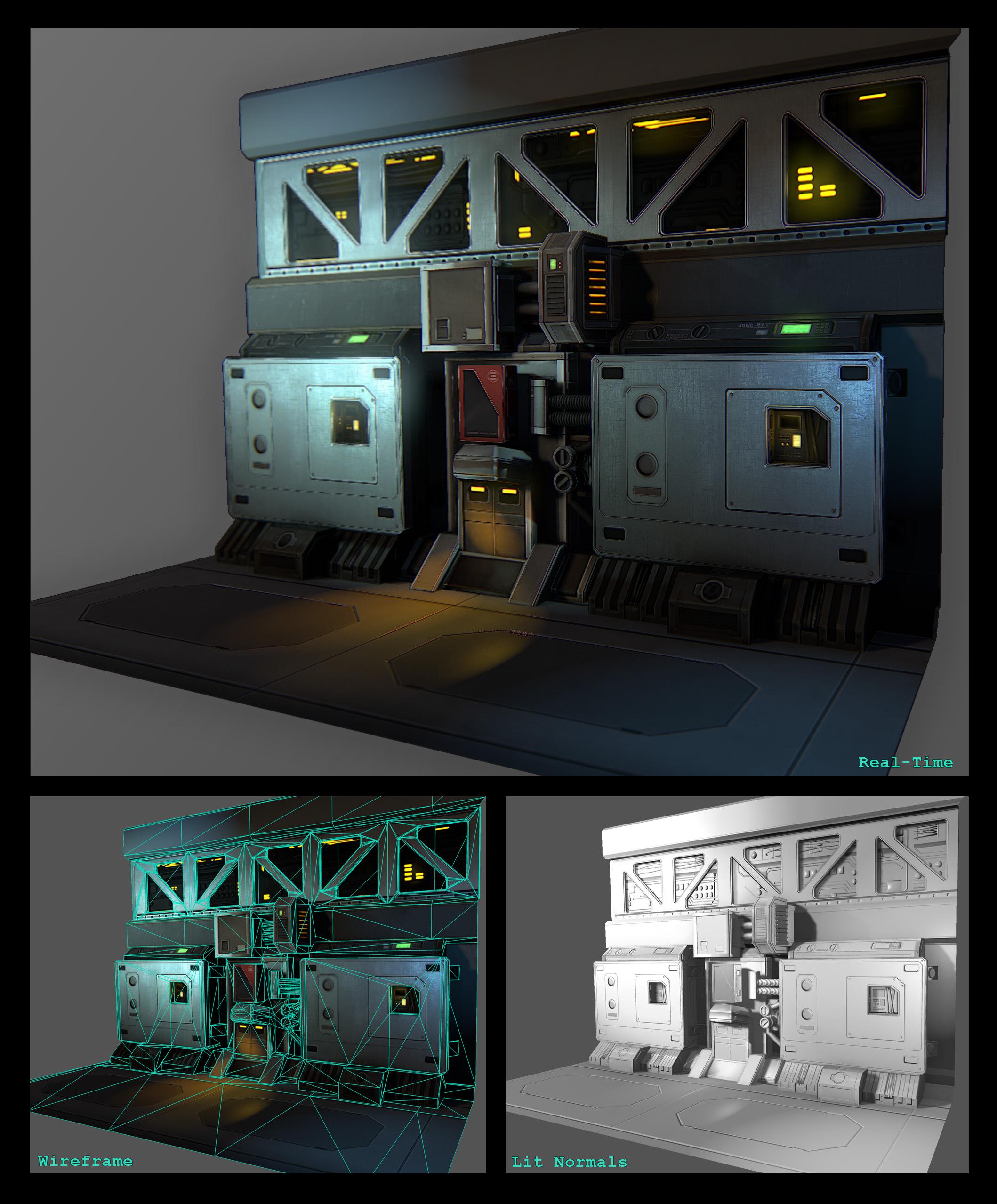 Tim Spanjer - CG Artist - 3D Modeler